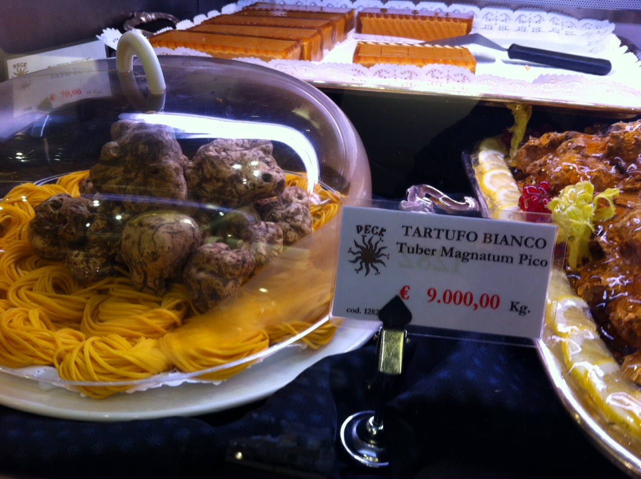 Euro per un chilo di tartufi come si arriva a for Ferro al chilo