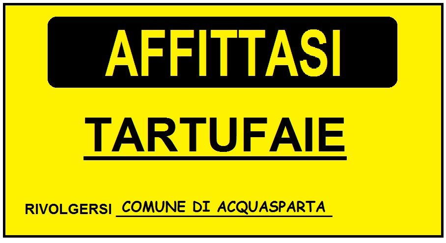Tartufaie in Affitto