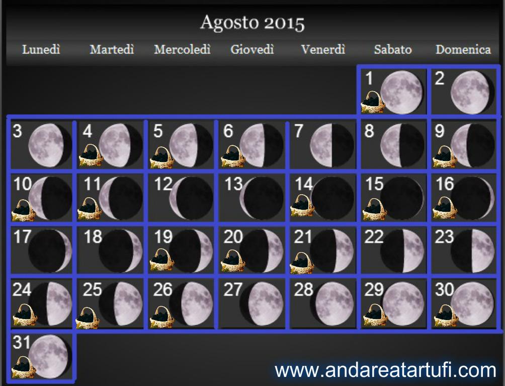 prima luna: agosto 2015