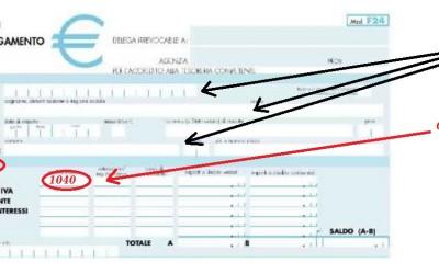 Come compilare F24 per i contributi dei tartufai