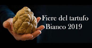 Fiere del Tartufo Bianco 2019