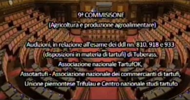 Disposizioni sui tartufi della commissione agricoltura (video)
