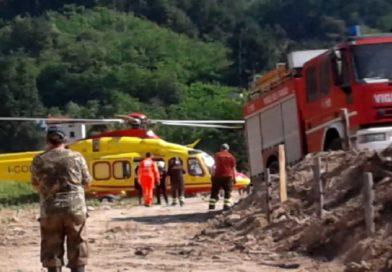 Tartufaio 67enne caduto in un dirupo di 15 metri