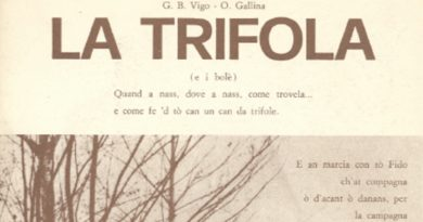 Poesia in dialetto piemontese del 1975